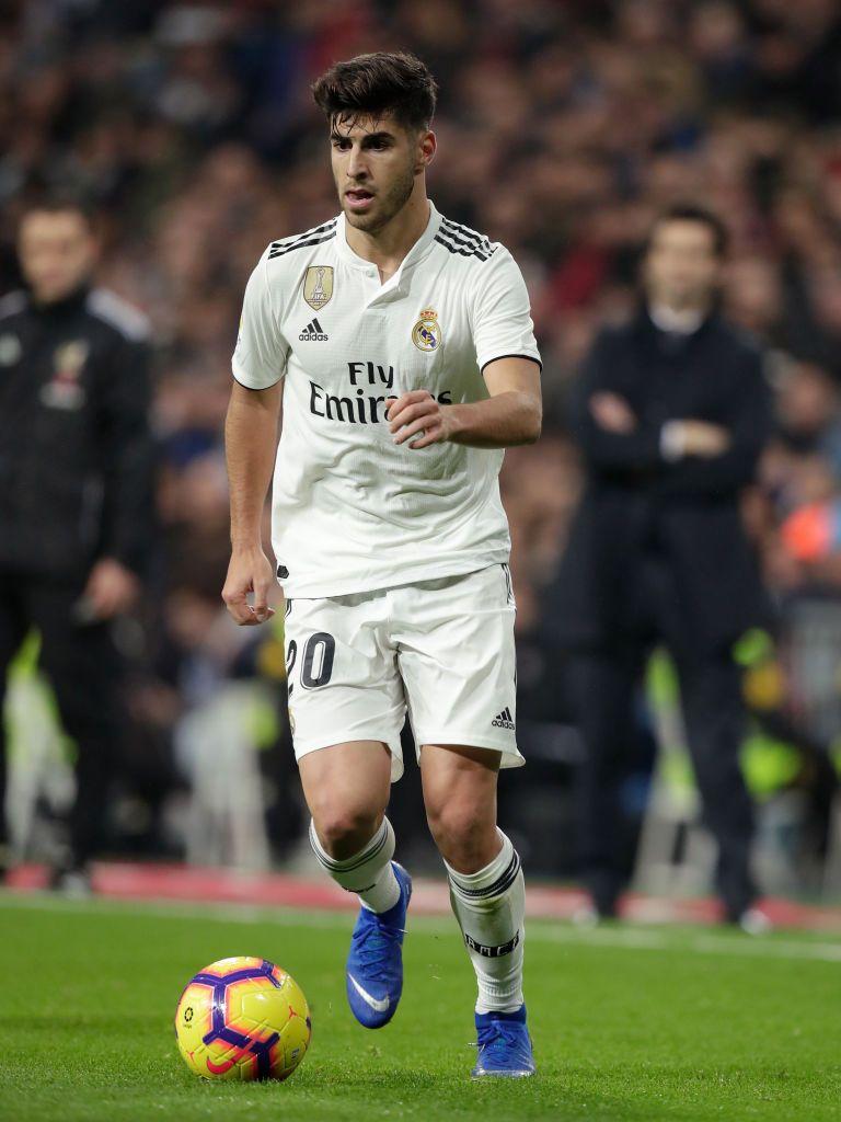 Marco Asensio of Real Madrid during the La Liga Santander ...