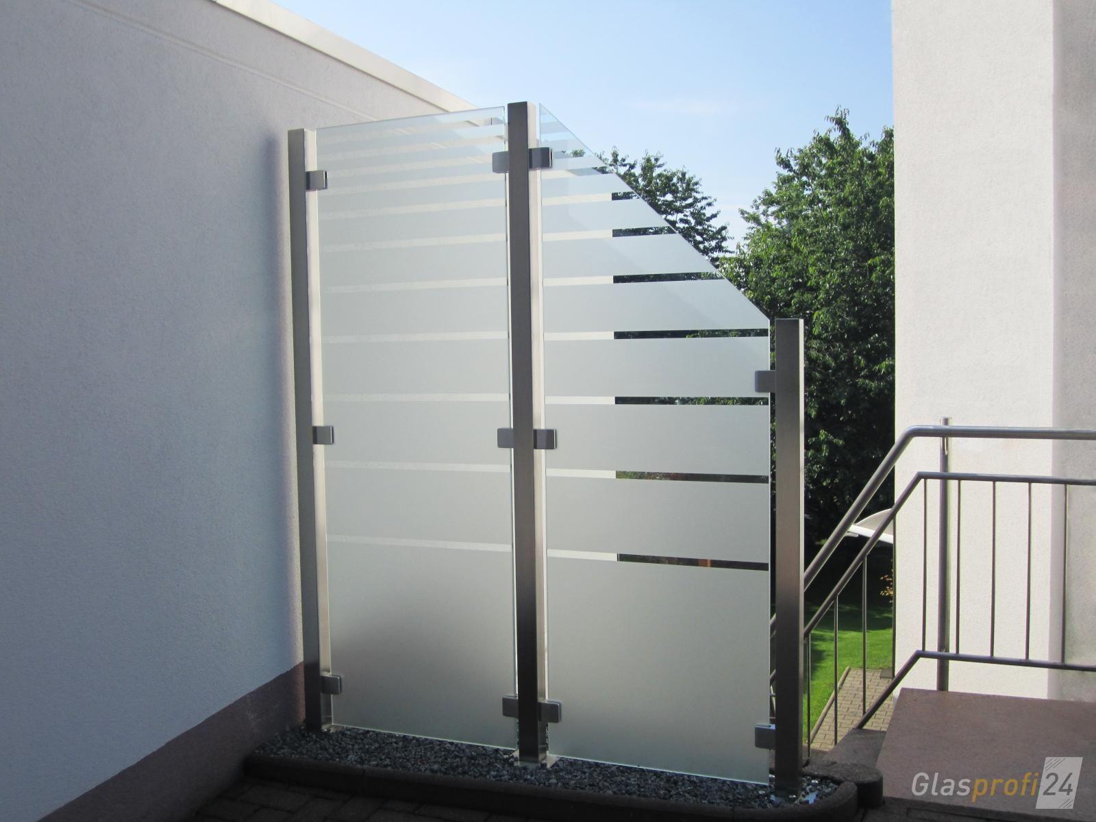 Sichtschutz Aus Glas Fur Den Garten Aus Den Fur Garten Glas