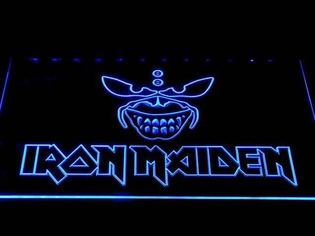Iron Maiden 2 LED Sign