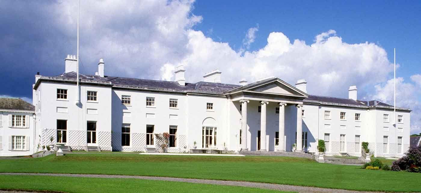 Visit Dublin - Historic Sites - Aras an Uachtarain