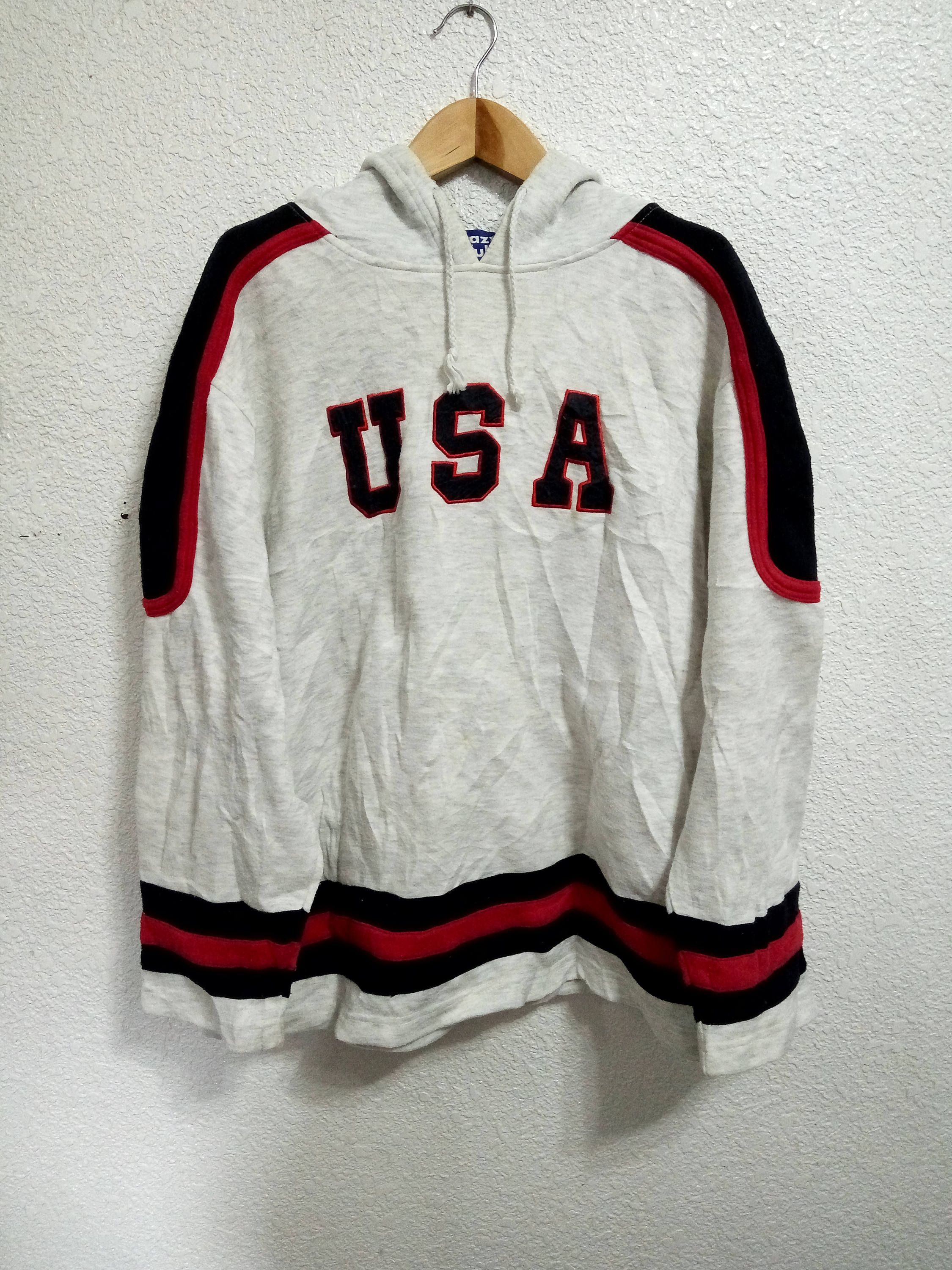 04b8d70c9e Sale Vintage Crazy Club USA Big Logo Sweater Hoodies by ...