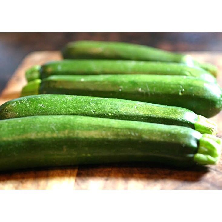 Courgette lunch