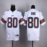 Cleveland Browns  80 Dwayne Bowe White Elite Jersey  11382c181