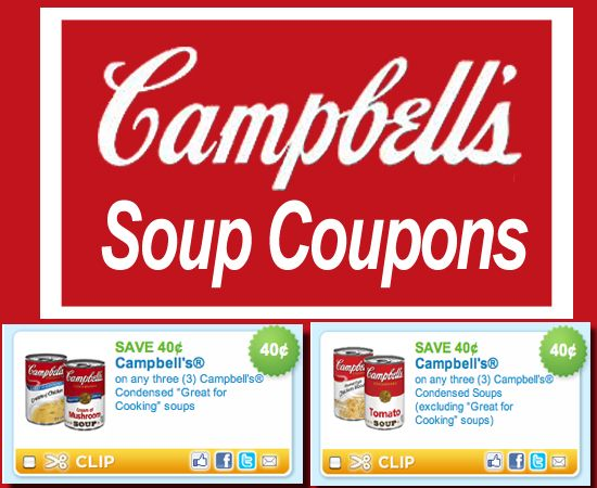 picture regarding Campbell Soup Printable Coupon identify Campbell Soup Coupon codes Help save! No cost printable discount codes