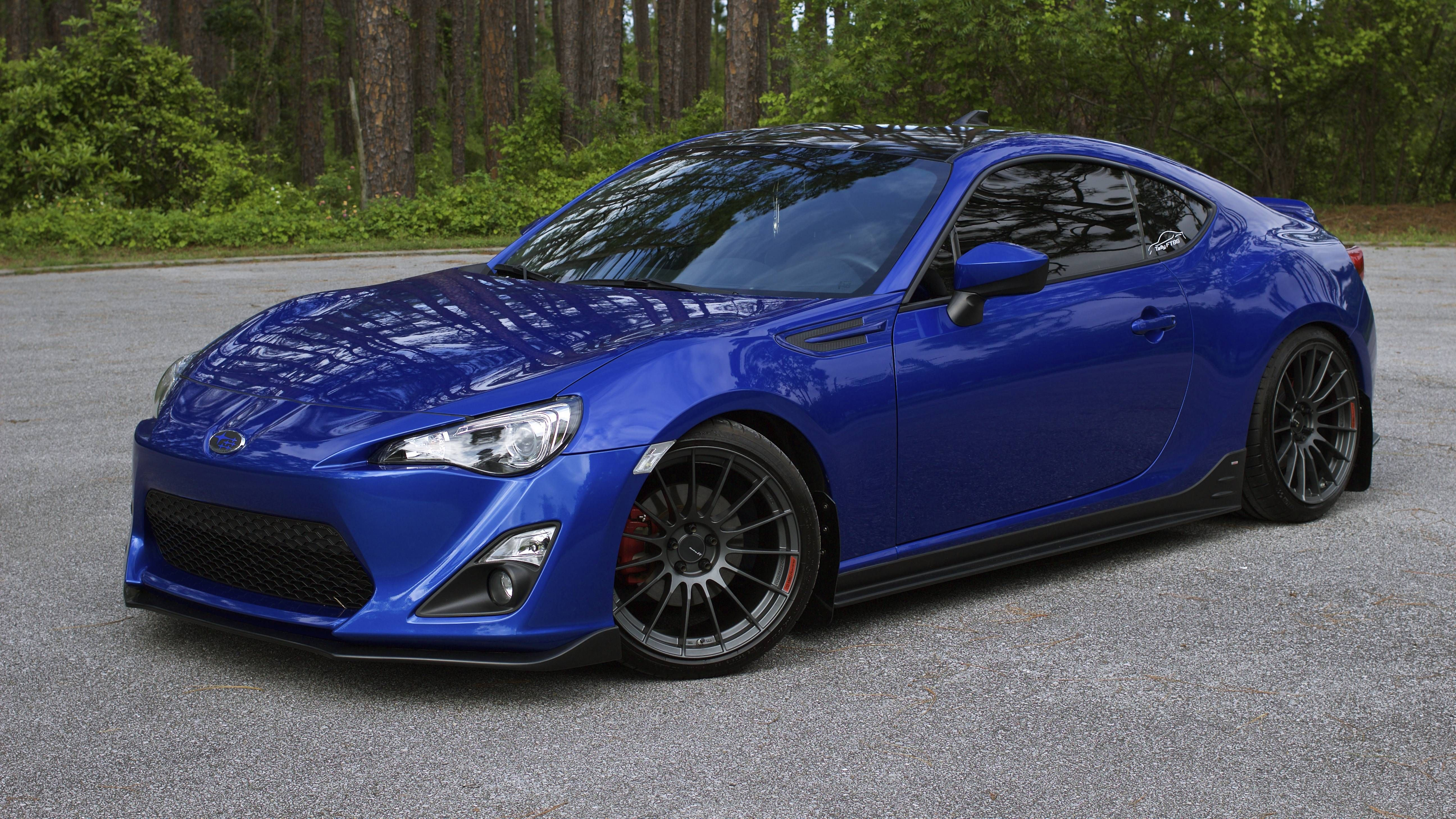 Schon Hmmmmmmmmmm. This Guy Put An 86 Front Bumper On His BRZ. Looks Pretty Good.  Those Enkei Wheels Are Great. Wide, Though.