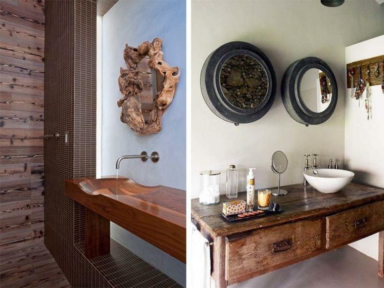 Lavabos rústicos ideas para cada tipo de baño - lavabos rusticos