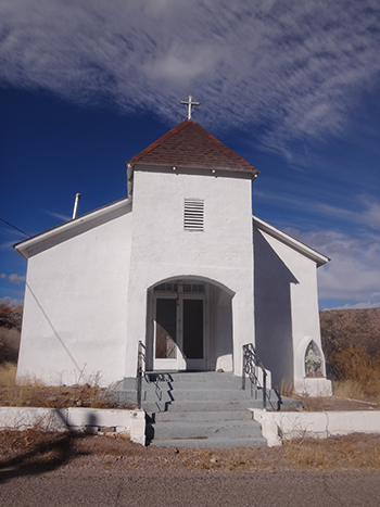 Ghost Towns - San Ignacio Catholic Church in Monticello ...