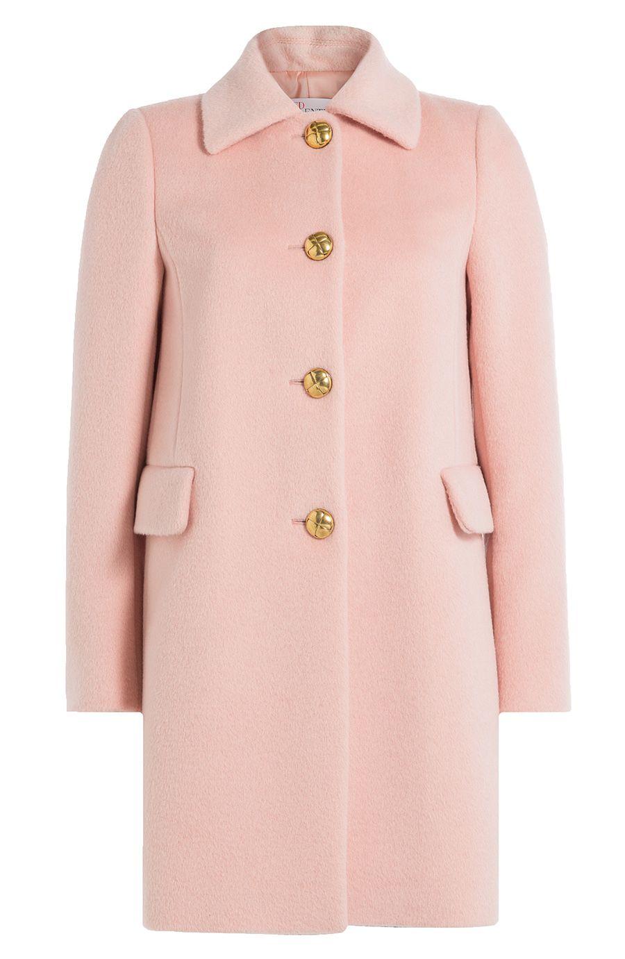 bc27b01f2018e RED VALENTINO Coat With Alpaca And Wool. #redvalentino #cloth #short coat