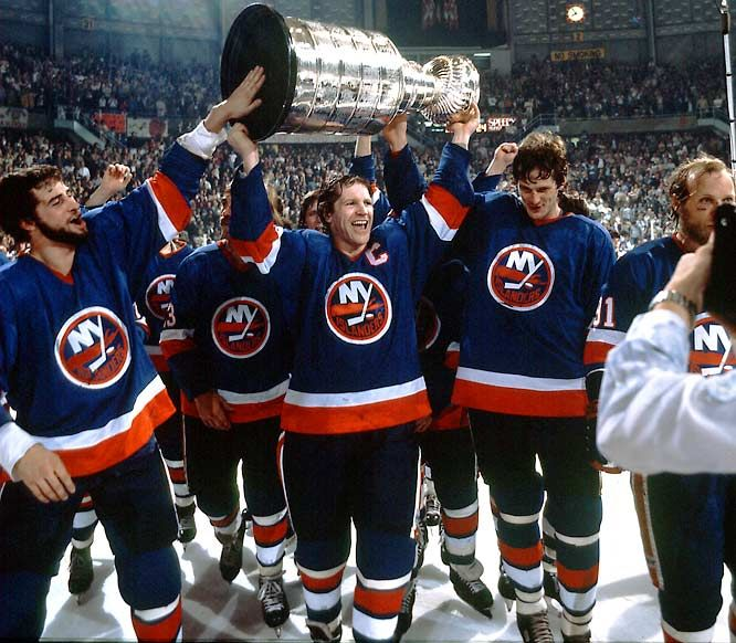 The Craziest Things Ever Done With The Stanley Cup Lera Blog New York Islanders Denis Potvin Nhl Highlights