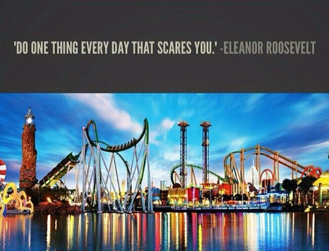 Do scary things daily!