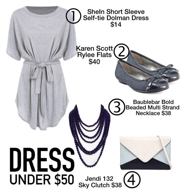 """Lounging Around"" by kiwipenguin on Polyvore featuring Karen Scott, BaubleBar, Jendi and Dressunder50"
