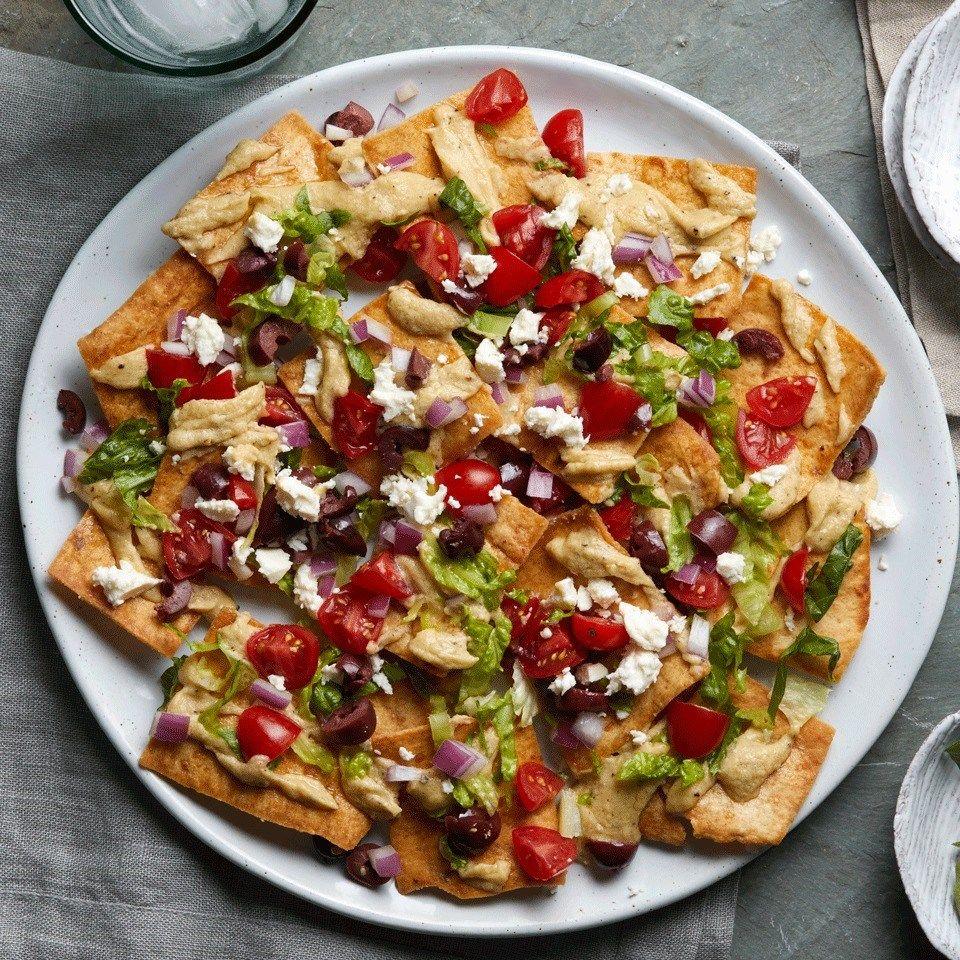 mediterranean diet nacho recipe