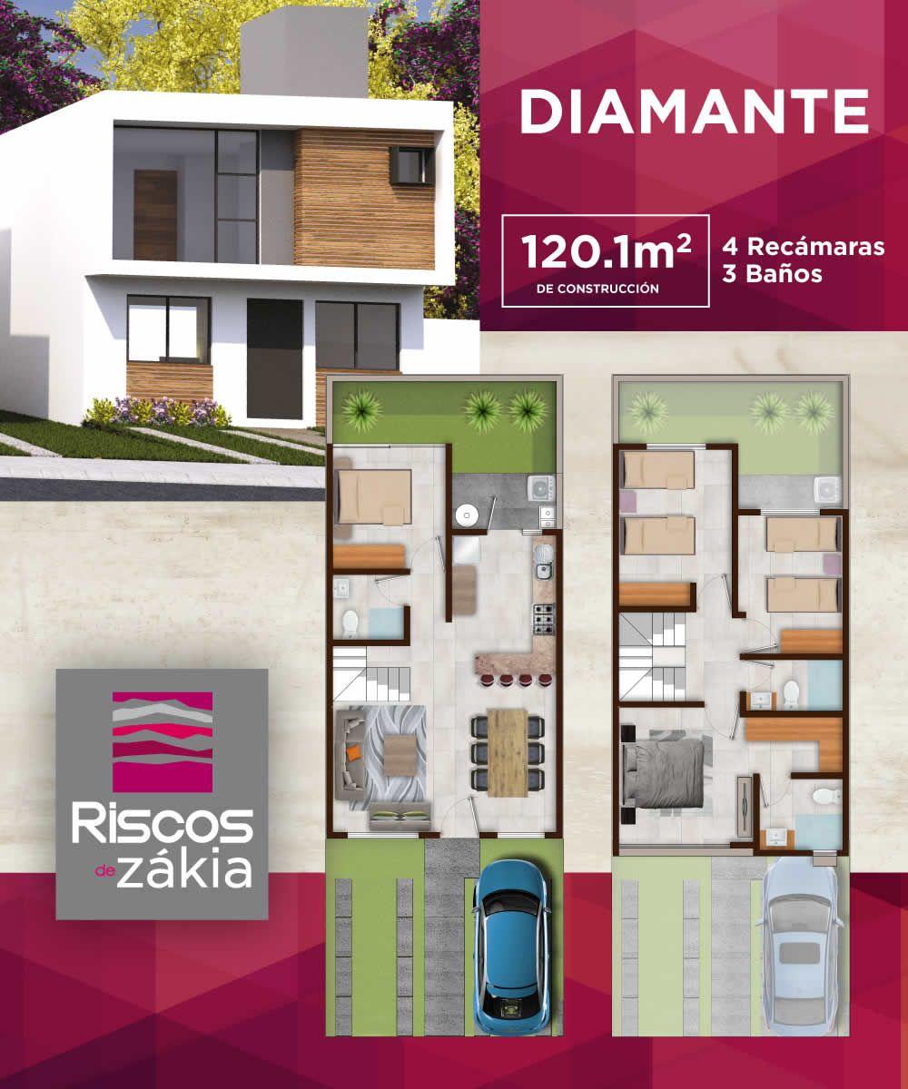 Preciosa casa en condominio queretaro casas en quer taro for Casa moderna en venta queretaro