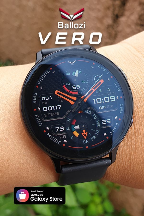A hybrid watch face with changeable watch hands. in 2020 (With images) | Samsung watches. Unusual watches