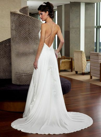 Captivating Designer Wedding Dresses Backless