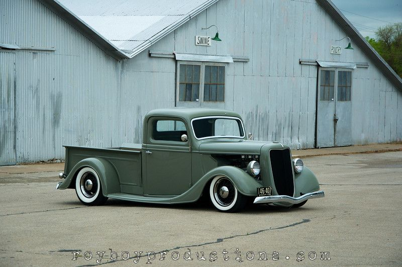 Feature Friday: Jerry and Cynthia Curry's 1936 Ford Pickup