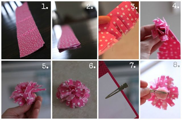 House by Hoff: DIY Shabby Flower Clip