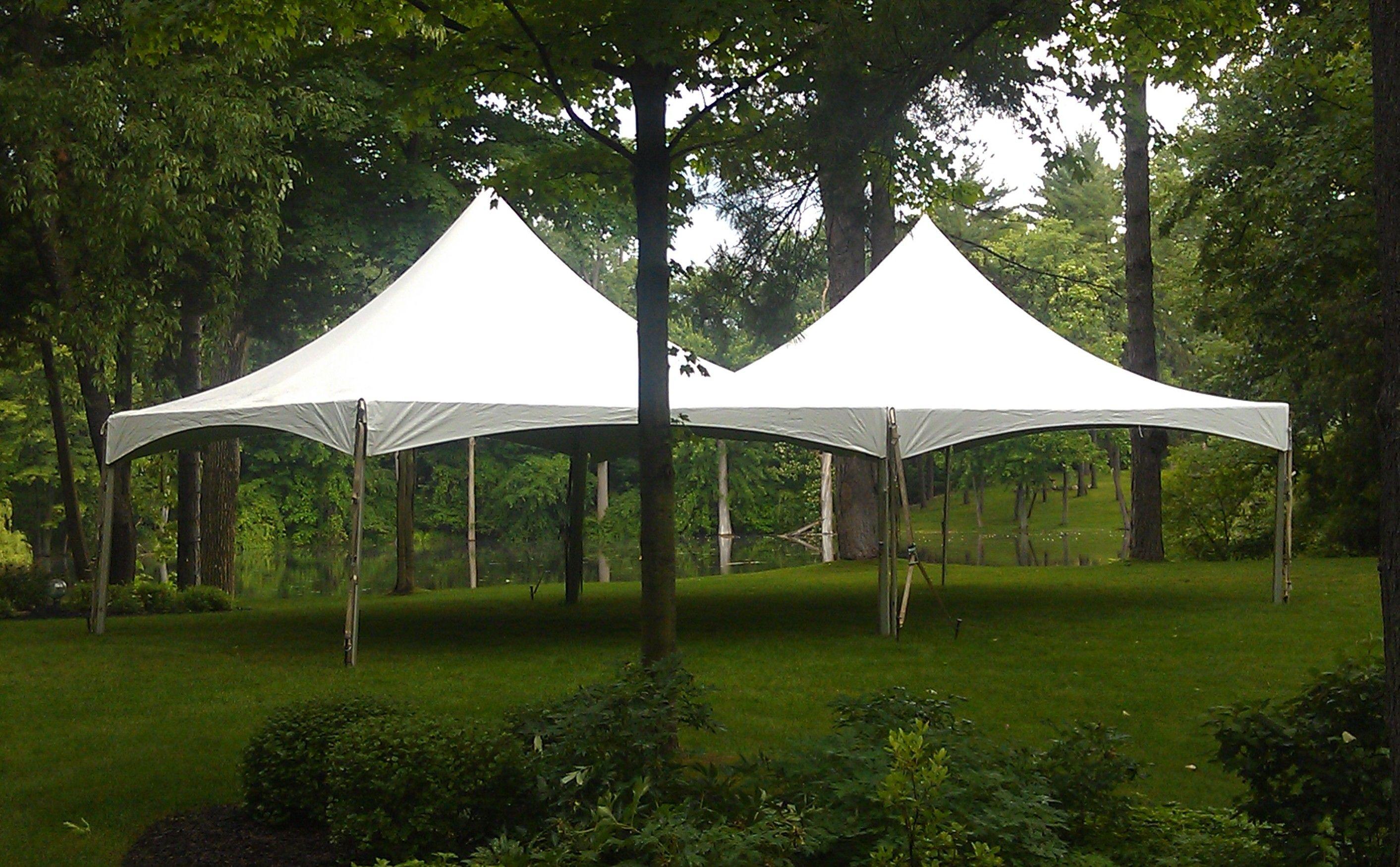 20 x 40 festival frame tent for a beautiful backyard wedding. 844-TENT PRO & 20 x 40 festival frame tent for a beautiful backyard wedding. 844 ...