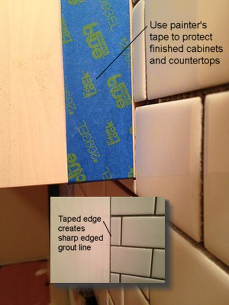 How To Apply Grout To Ceramic Wall Tile Like A Pro Pinterest