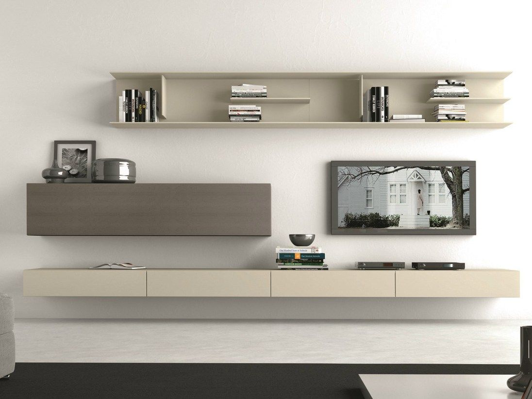 Sectional Wall Mounted Tv System I