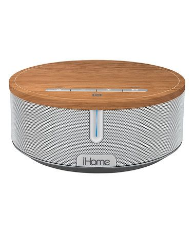 Take a look at this Wood Bluetooth Speaker on zulily today!