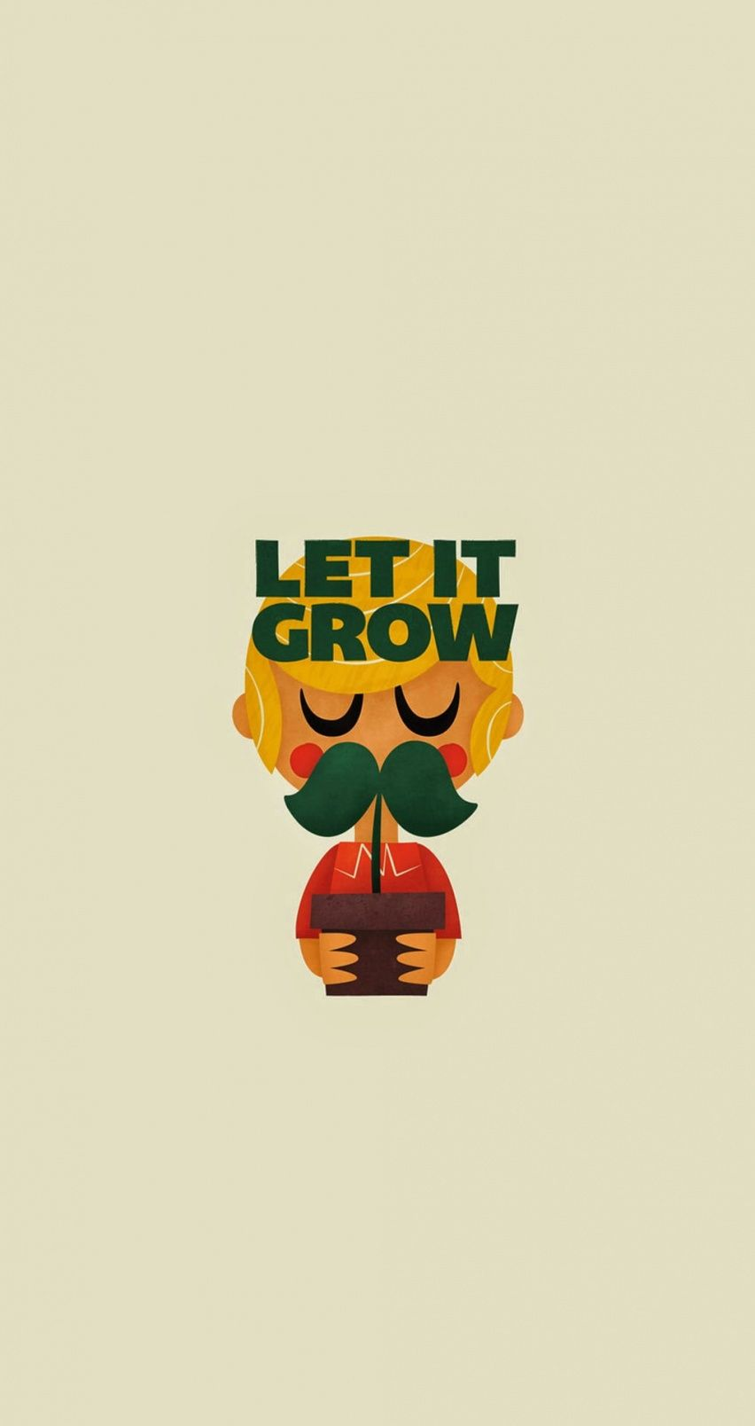 Let it grow. Tap image for more cartoon wallpapers