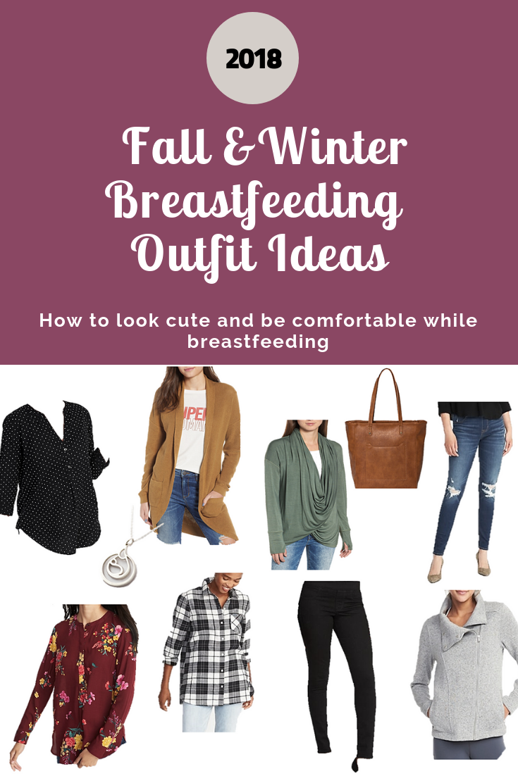 05216e55d1924 We've complied a list of the best and cutest affordable nursing friendly  shirts to wear this fall and winter.