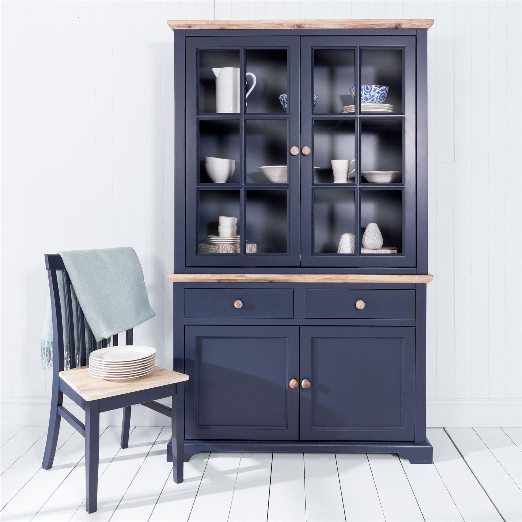 Best Florence Display Cabinet Dresser Navy Blue In 2020 400 x 300