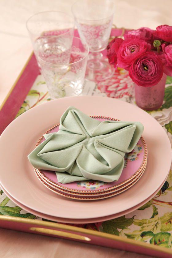 servietten falten leicht gemacht