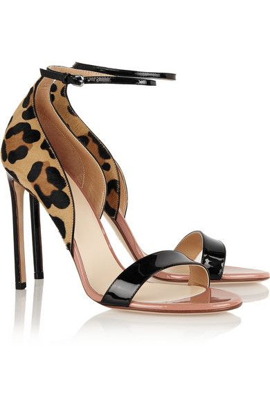 Sale Free Shipping Free Shipping 100% Guaranteed Leopard-printed calf hair pumps Francesco Russo New Arrival Sale Online OdEkAR