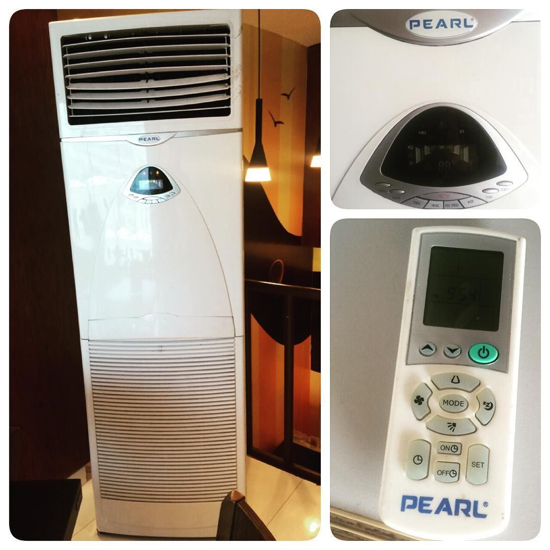 For Sale A C Stand Brand Peral 3 Ton Model Eq036fcac Good Condition Price 280 Bd للبيع ايسي بيرل عمودي 3 Home Appliances Stacked Washer Dryer Washer