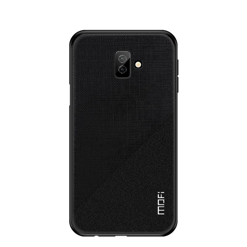 For Samsung Galaxy J6 Plus Case Mofi Bright Soft Tpu Hard Pc Fabric Cloth Smart Phone Bag Back Case Cover For S Cute Phone Cases Phone Cases Best Android Phone