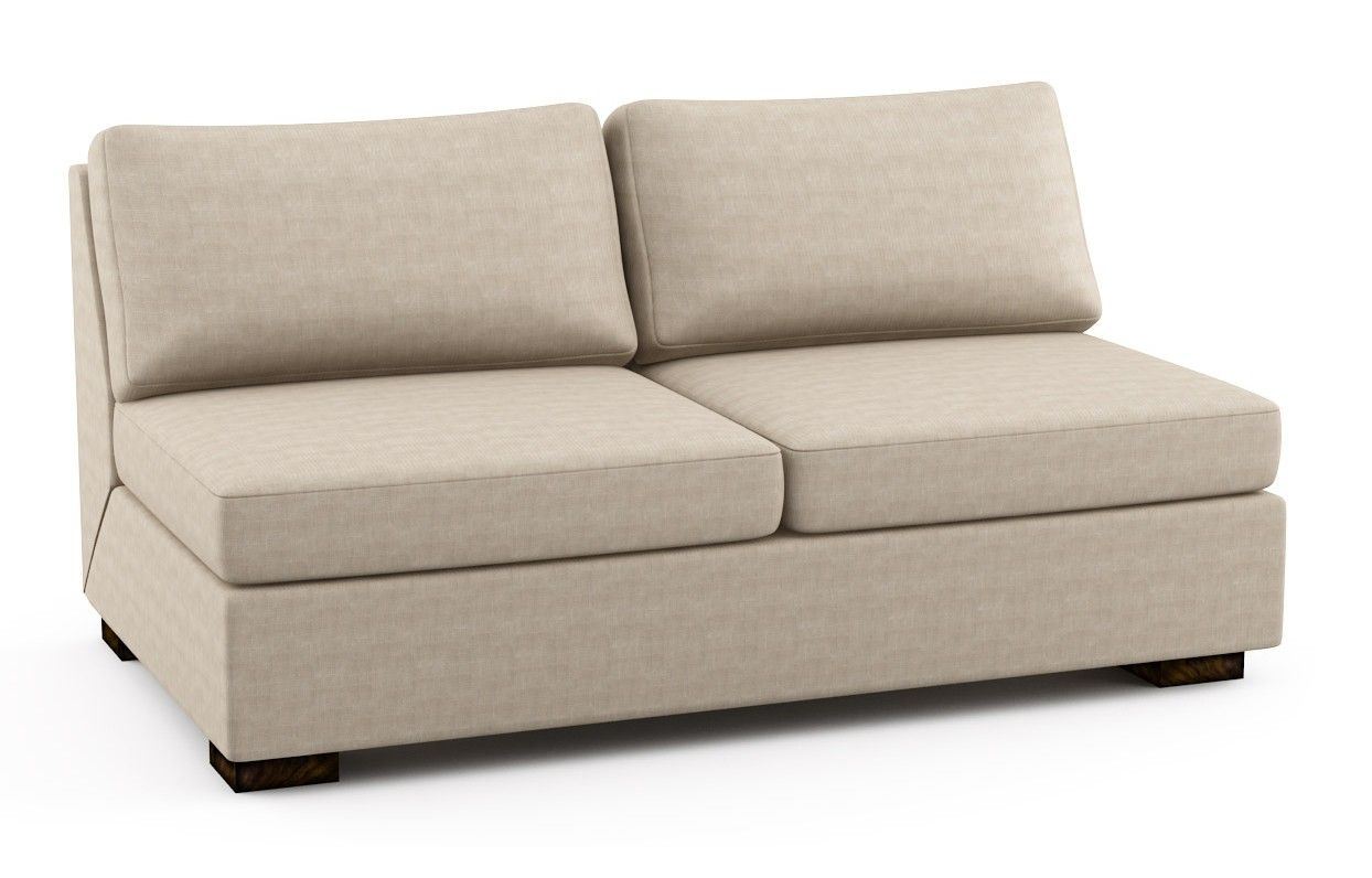 Rio Armless Sofa Bed Viesso With