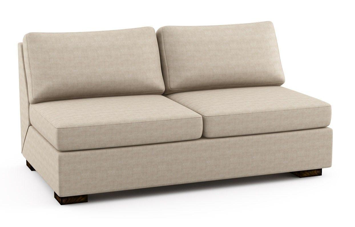 armless sofas custom made sofa covers india beds circle furniture karla sleeper