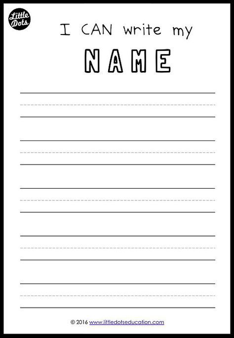 free printable to practice writing your names for preschool pre k or kindergarten class. Black Bedroom Furniture Sets. Home Design Ideas
