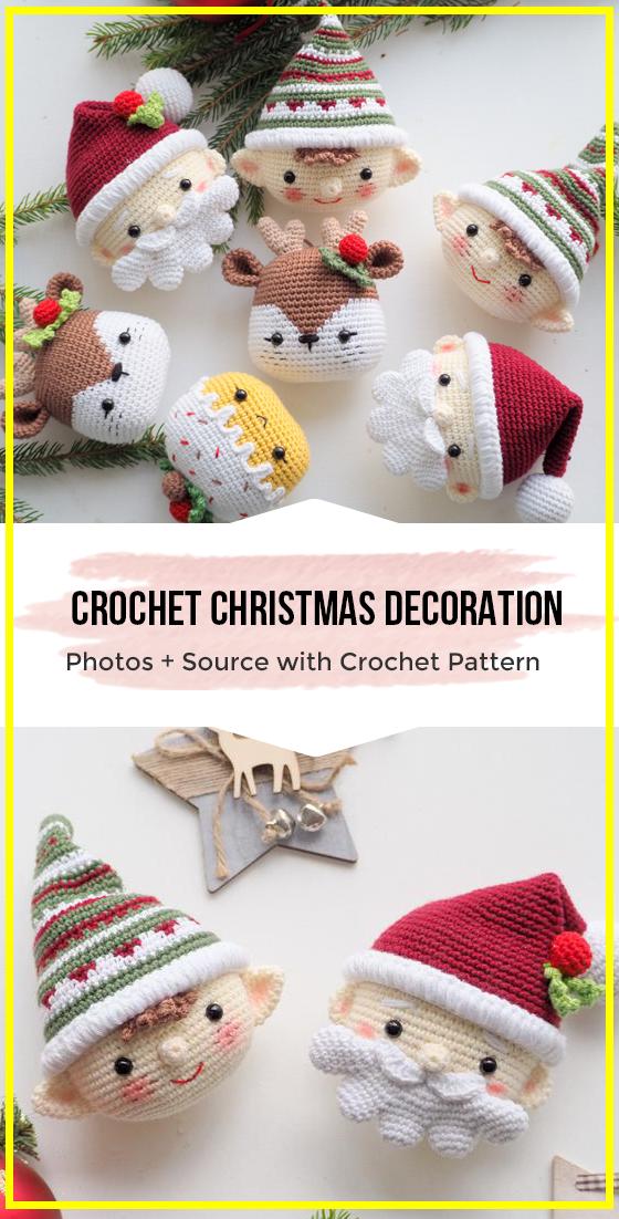 Cervatillo Marley | Crochet navidad adornos, Ganchillo navidad y ... | 1102x560