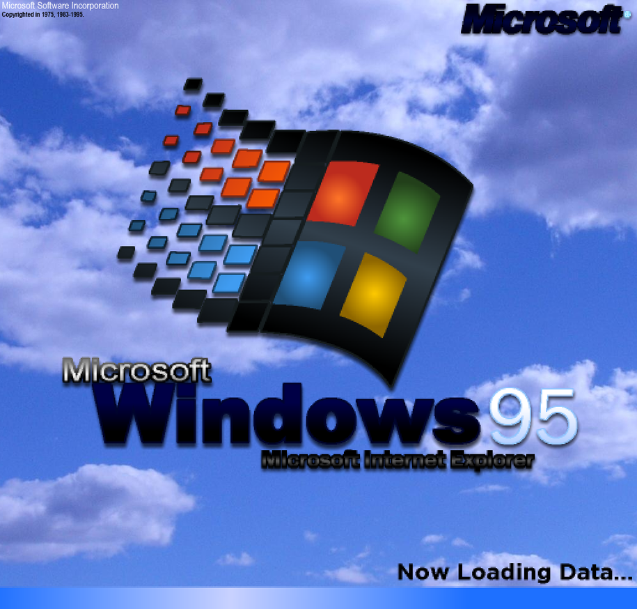 Windows 95 Logo Remade My Own Way By Icepony64 Windows 95 Windows Desktop Wallpaper Windows