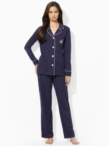 72b9c13d9c www.ralphlauren.com Cotton Jersey Pajama Set - Lauren Sleepwear   Robes -  Ralph Lauren UK
