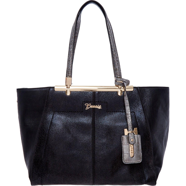 Bessie Black Tote Bag Tk Ma