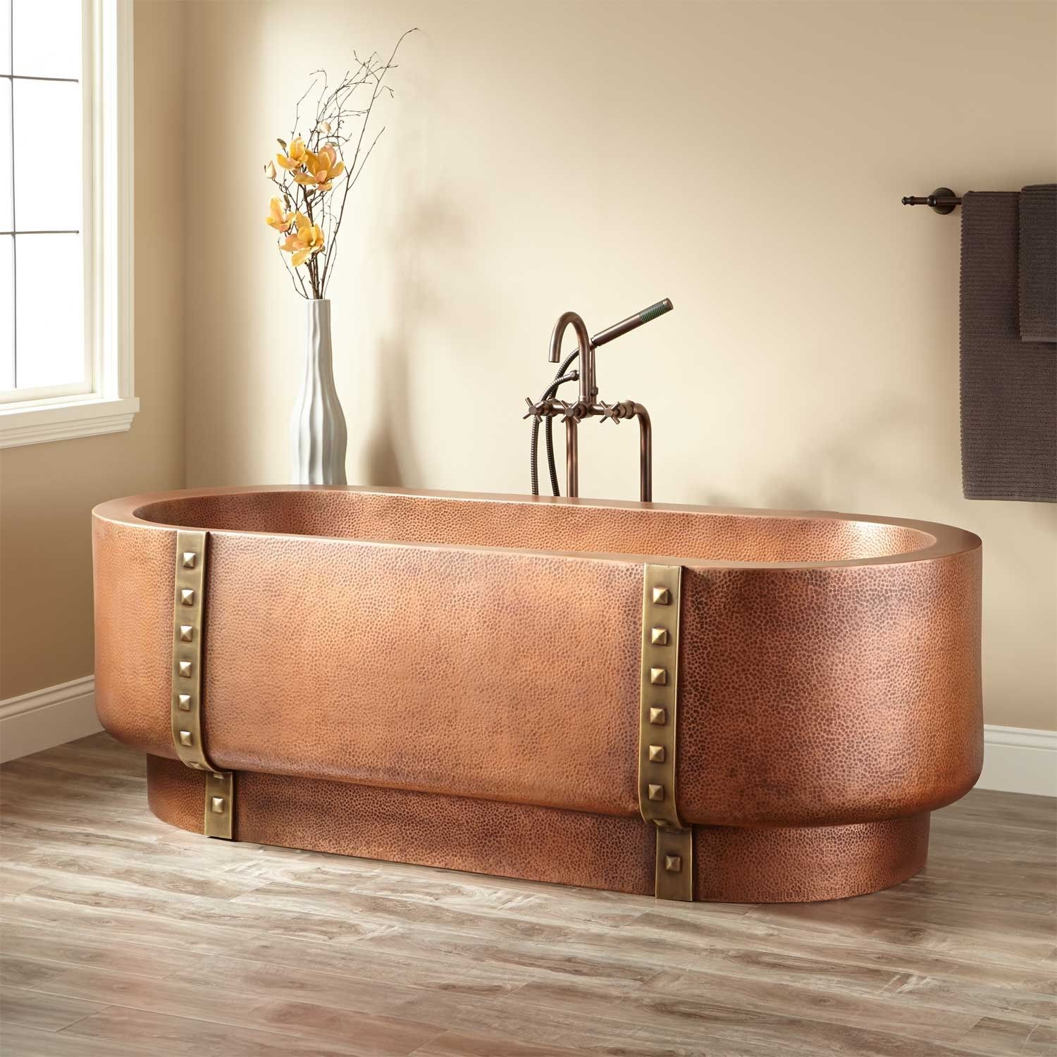Tokoro Double Wall Copper Freestanding