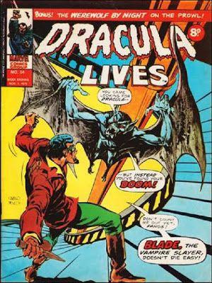 Marvel UK, Dracula Lives #54