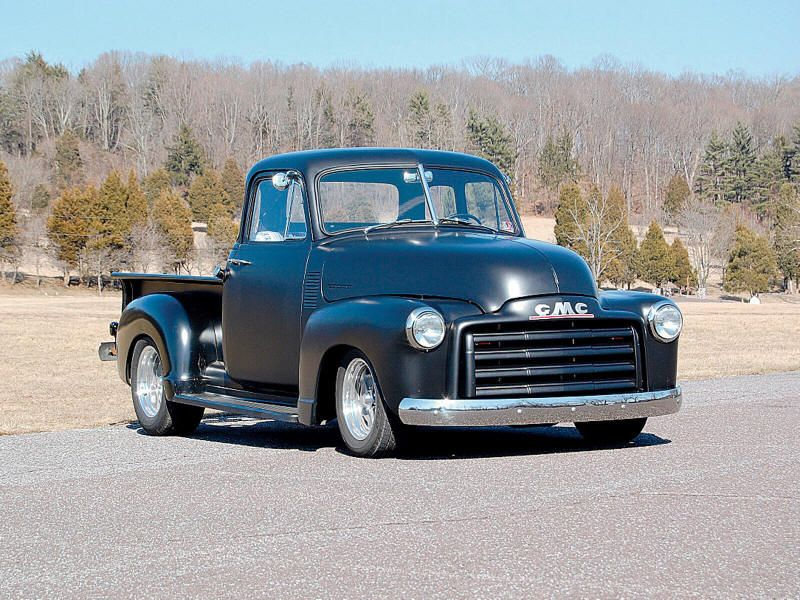 Classic 1948 GMC pick up truck...available in pink? from ...