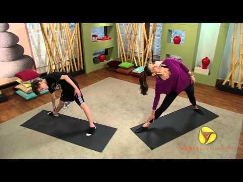 kids yoga triangle pose  youtube  yoga for kids