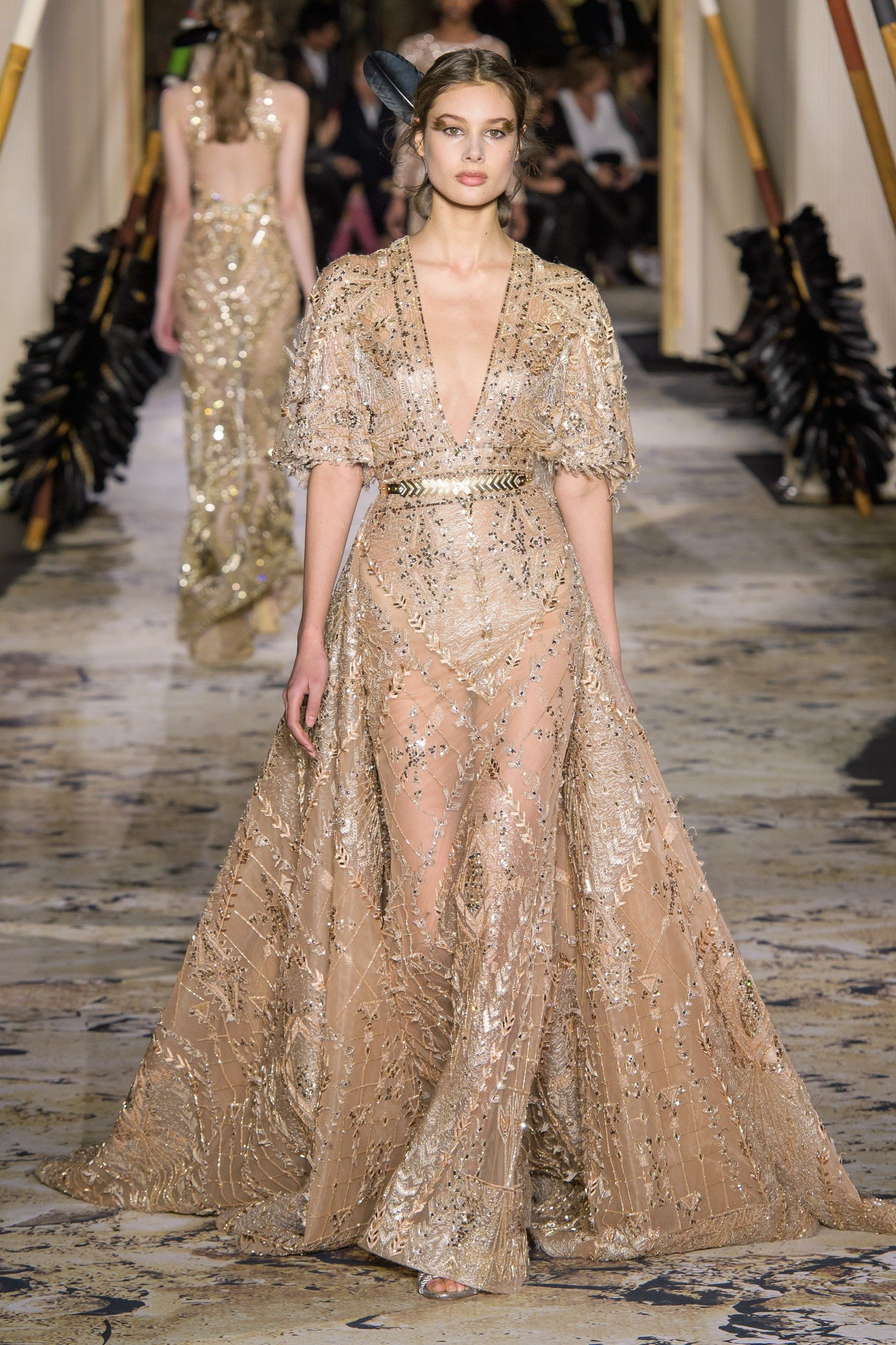Zuhair Murad Spring 2018 Couture Fashion Show - The ...