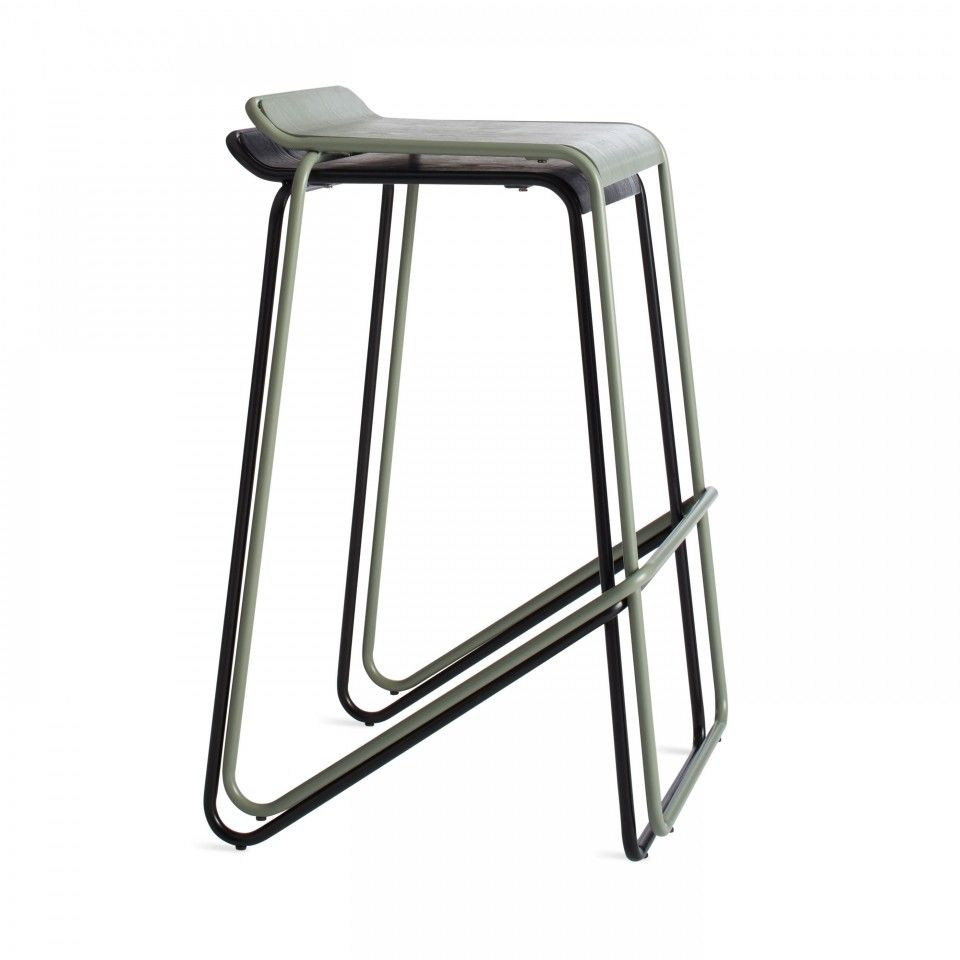 Ready Stacking Barstool Stackable Bar Stools Blu Dot