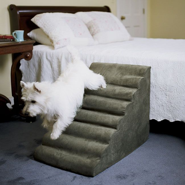 Your Pampered Dog Will Appreciate These Bed Steps The Rippled Surefooted  Walking Surface Of Our Pet