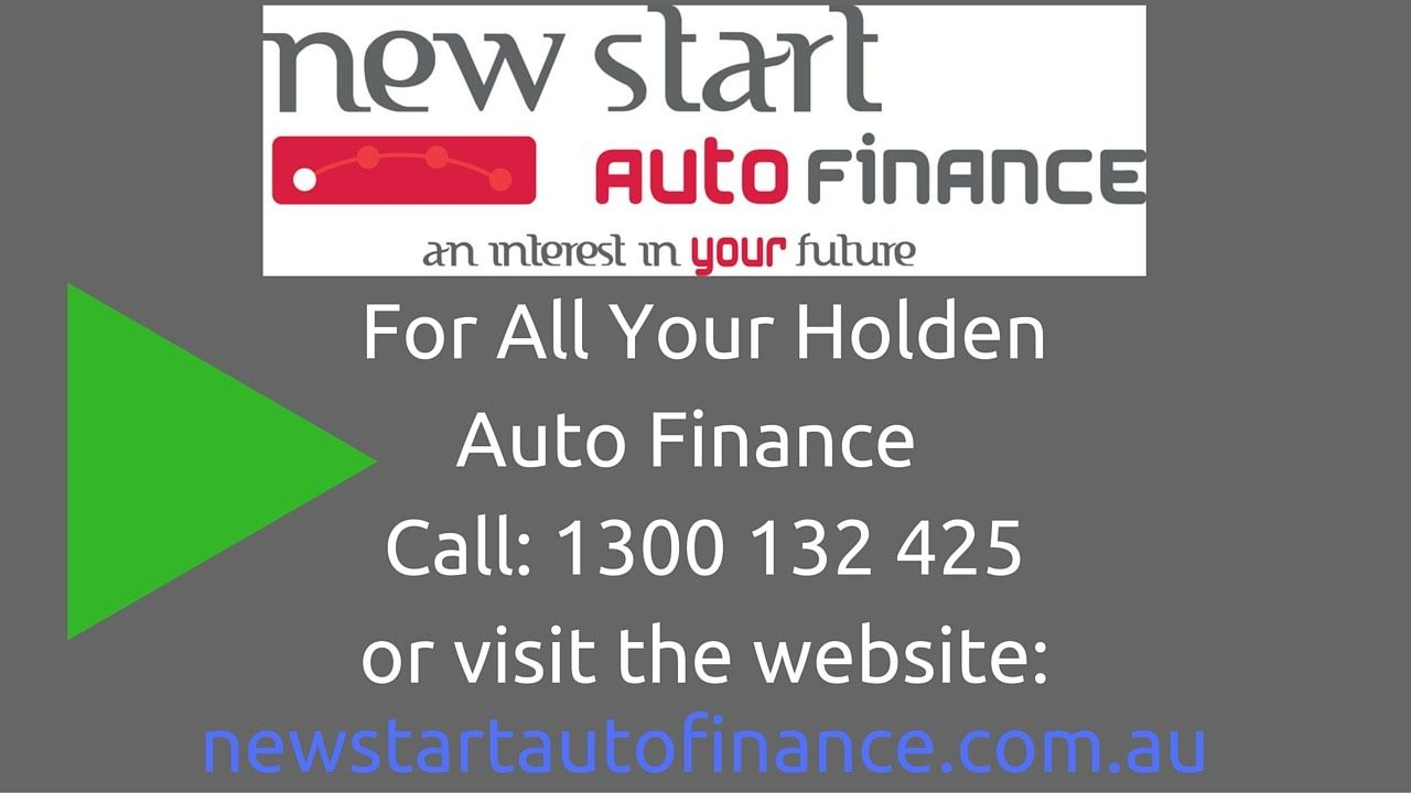 Reliable Auto Finance >> Reliable Holden Auto Finance Readily Accessible With New