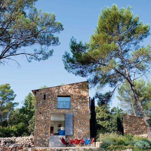 Mediterranean Kitchen Bellevue Wa: Provence : Une Maison Neuve Taillée En Pierres Sèches
