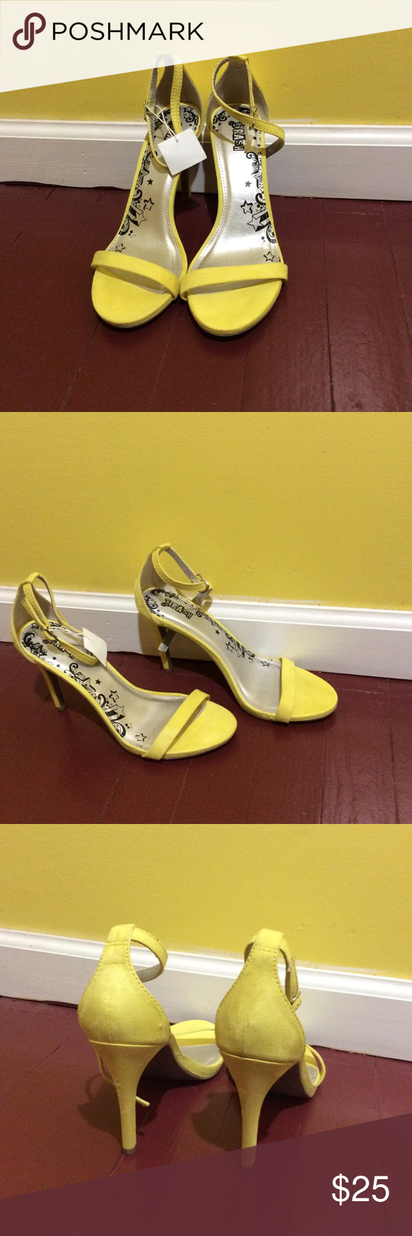 18b246cdf8f9 All Yellow Brash Women s Kailey Ankle Strap Heel Step out in style in this  fabulous pump