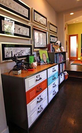 galvanized metal furniture for a teen room | Using Metal Furniture ...